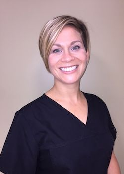 Headshot of dental hygienist Nina