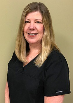 Headshot of dental hygienist Deb